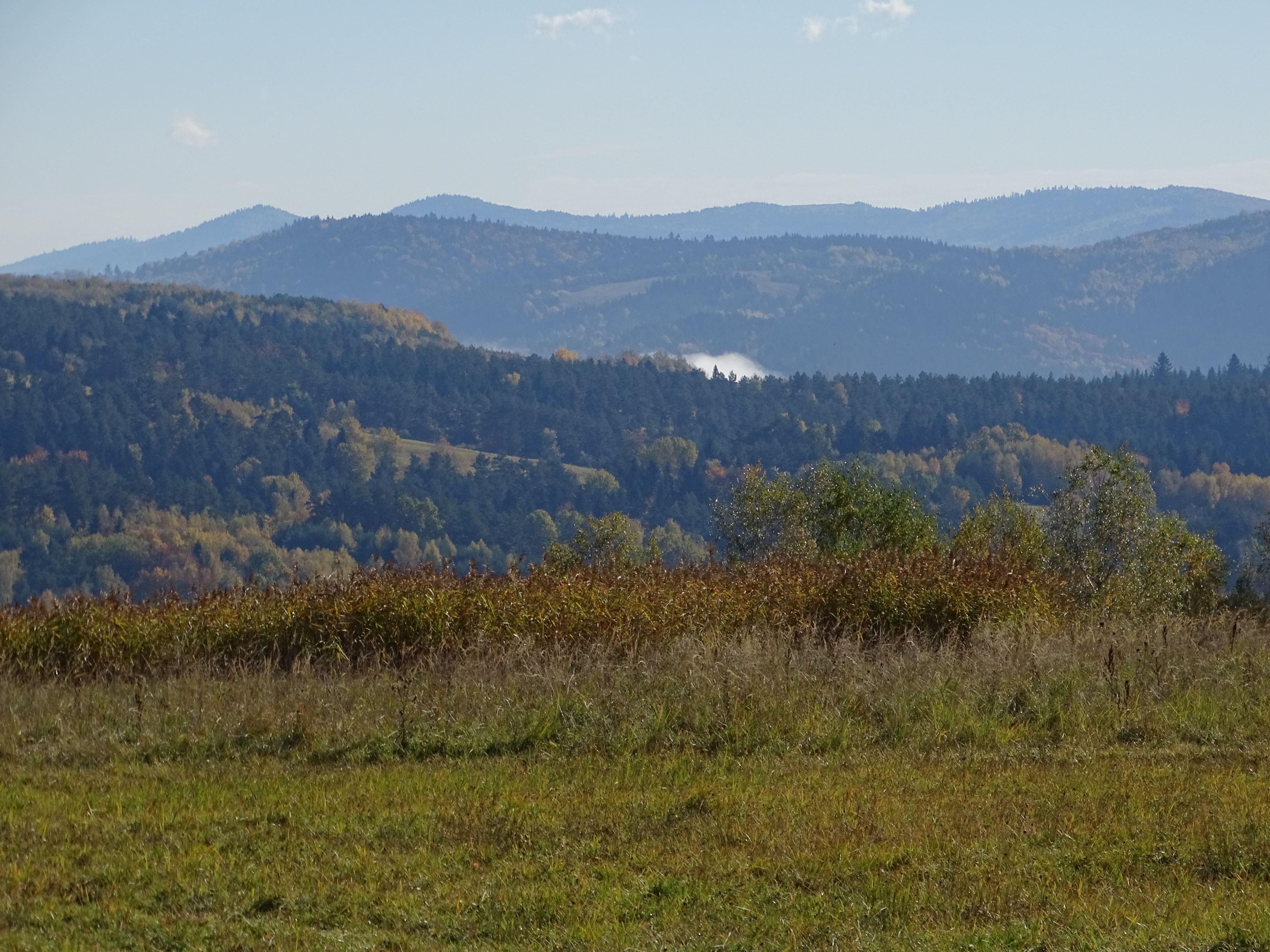 Góry Sanocko Turczańskie. Okolice dawnego Arłamowa